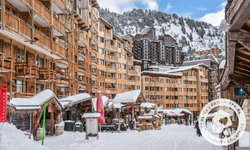 Аренда на лыжном курорте Апартаменты 2 комнат 4 чел. (Sélection 28m²-1) - Résidence les Fontaines Blanches - Maeva Home - Avoriaz - зимой под открытым небом