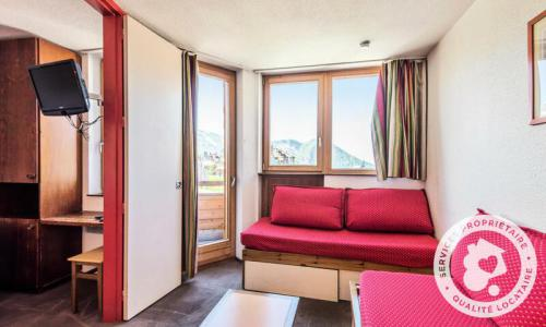 Аренда на лыжном курорте Апартаменты 2 комнат 5 чел. (Confort 28m²) - Résidence les Fontaines Blanches - Maeva Home - Avoriaz - зимой под открытым небом