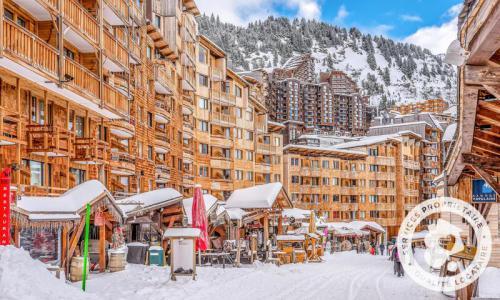 Аренда на лыжном курорте Апартаменты 2 комнат 5 чел. (Confort -4) - Résidence les Fontaines Blanches - Maeva Home - Avoriaz - зимой под открытым небом