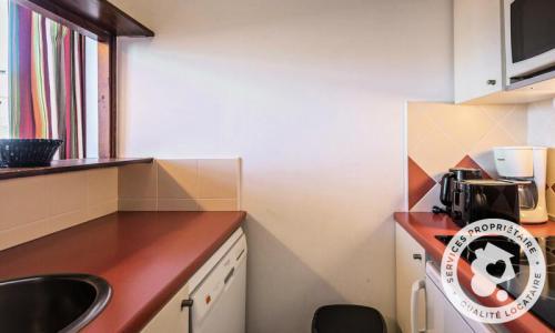 Аренда на лыжном курорте Апартаменты 2 комнат 5 чел. (Confort 28m²-10) - Résidence les Fontaines Blanches - Maeva Home - Avoriaz - зимой под открытым небом