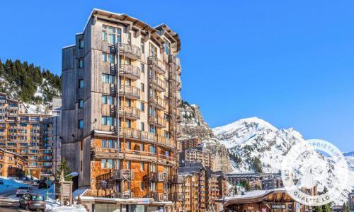 Аренда на лыжном курорте Апартаменты 2 комнат 5 чел. (Confort 28m²-3) - Résidence les Fontaines Blanches - Maeva Home - Avoriaz - зимой под открытым небом