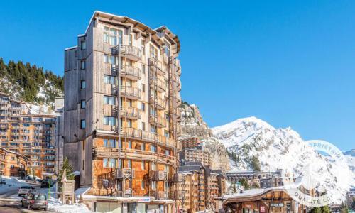 Аренда на лыжном курорте Апартаменты 2 комнат 7 чел. (Confort 34m²) - Résidence les Fontaines Blanches - Maeva Home - Avoriaz - зимой под открытым небом