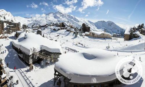 Аренда на лыжном курорте Résidence les Fontaines Blanches - Maeva Home - Avoriaz - зимой под открытым небом