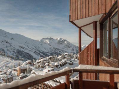 Location au ski Résidence Maeva l'Hermine - Avoriaz - Extérieur hiver