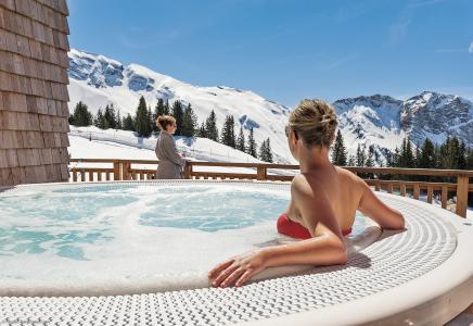 Location au ski Résidence P&V Premium l'Amara - Avoriaz - Jacuzzi