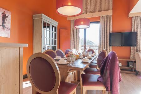 Location au ski Résidence P&V Premium l'Amara - Avoriaz - Salle à manger
