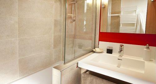 Rent in ski resort Résidence Pierre & Vacances Atria Crozats - Avoriaz - Bathroom