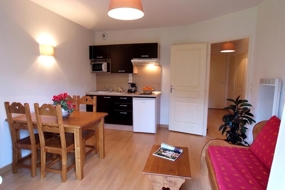Location au ski Appartement 2 pièces 4 personnes - Residence Domaine De La Vallee D'ax - Ax-Les-Thermes - Séjour