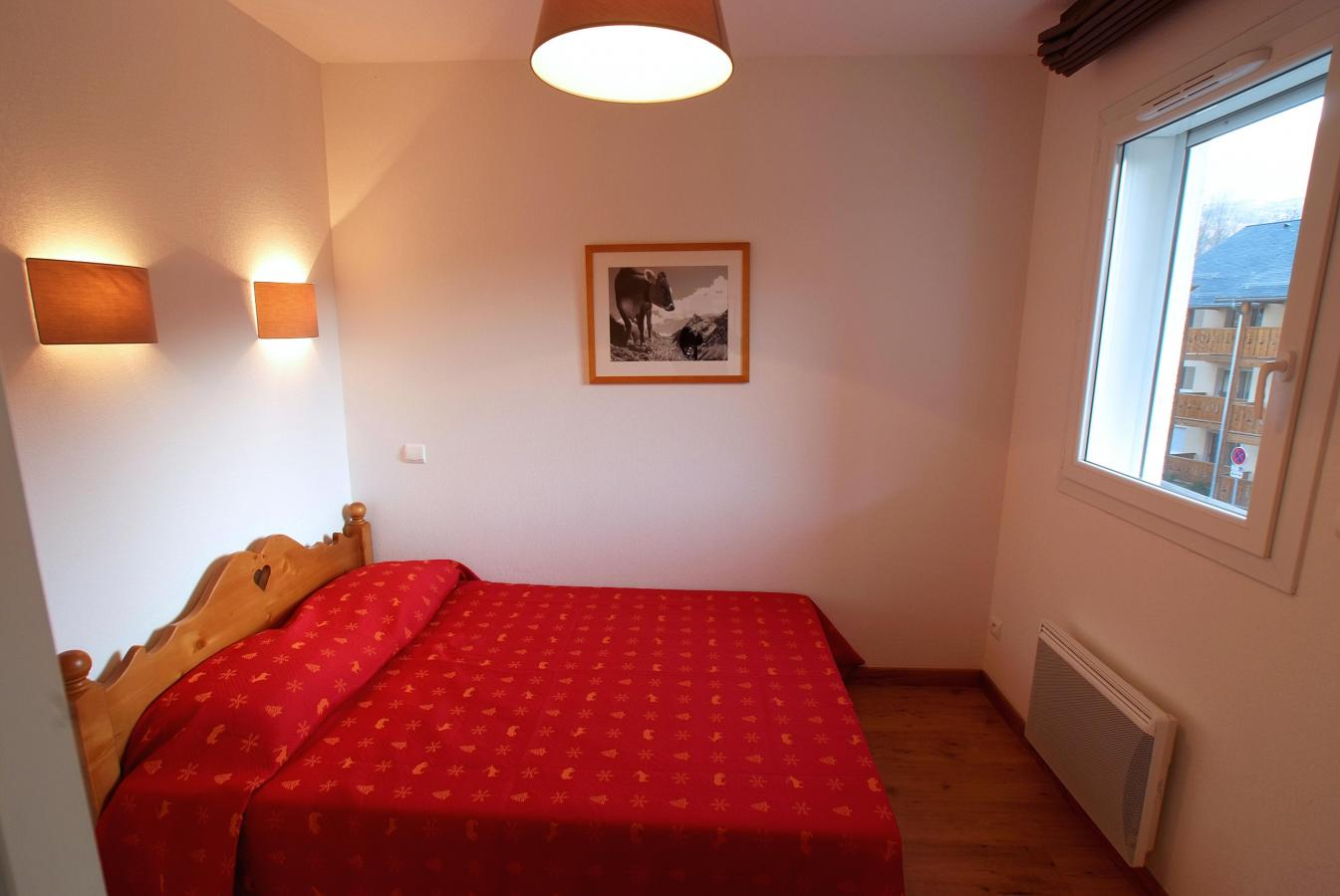 Location au ski Appartement 2 pièces cabine 6 personnes - Residence Domaine De La Vallee D'ax - Ax-Les-Thermes - Chambre
