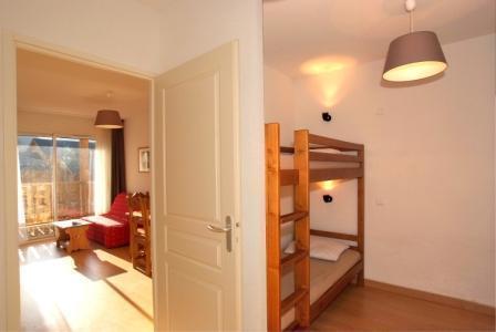 Location au ski Appartement 2 pièces cabine 6 personnes - Residence Domaine De La Vallee D'ax - Ax-Les-Thermes - Coin nuit