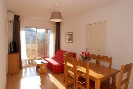 Location au ski Appartement 2 pièces cabine 6 personnes - Residence Domaine De La Vallee D'ax - Ax-Les-Thermes - Séjour