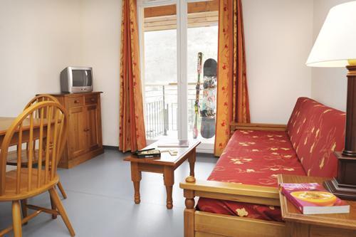 Location au ski Residence Les Grands Ax - Ax-Les-Thermes - Séjour