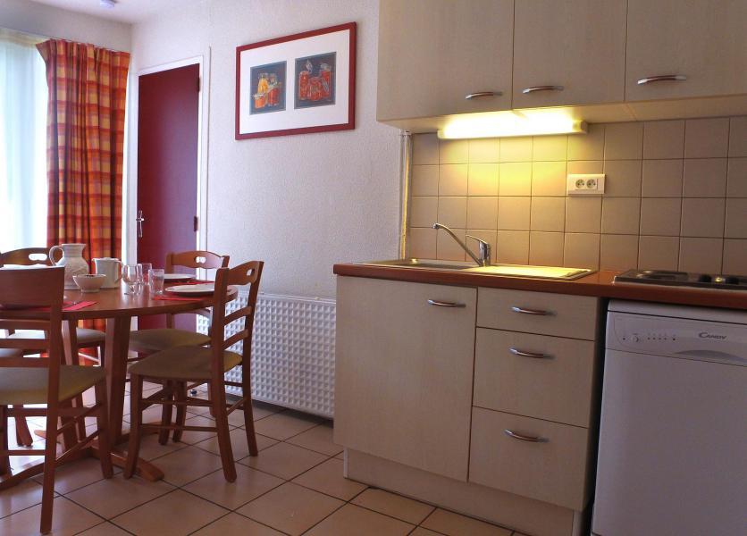 Wynajem na narty VVF Villages les Pyrénées Ariégeoises - Ax-Les-Thermes - Kuchnia otwarta