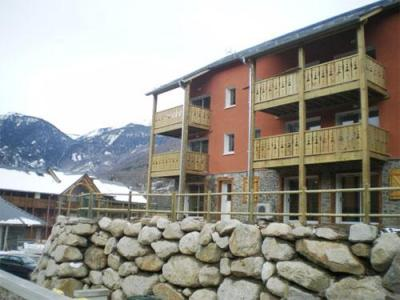 Location au ski Residence Domaine De La Vallee D'ax - Ax-Les-Thermes - Extérieur hiver