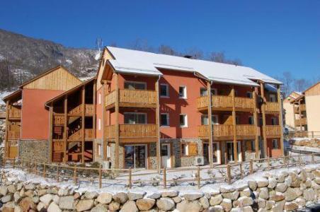 Location au ski Studio 2 personnes - Residence Domaine De La Vallee D'ax - Ax-Les-Thermes - Extérieur hiver