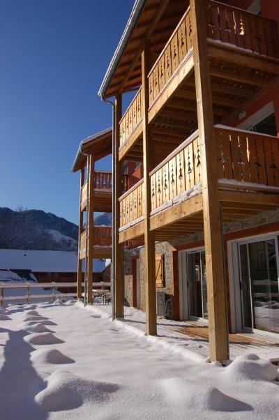 Location au ski Résidence Domaine de la Vallée d'Ax - Ax-Les-Thermes - Extérieur hiver