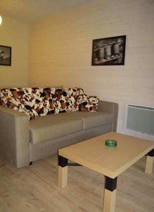 Location au ski Residence Lagrange Les Chalets D'ax - Ax-Les-Thermes - Coin séjour