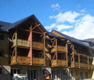 Location au ski Residence Lagrange Les Chalets D'ax - Ax-Les-Thermes - Extérieur hiver