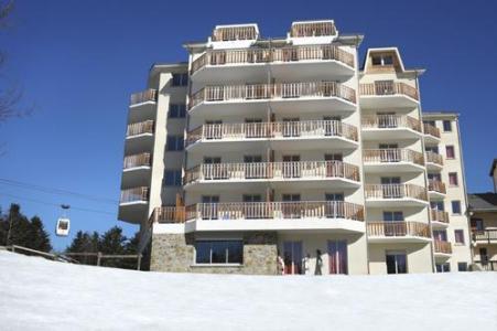 Location au ski Residence Les Balcons D'ax - Ax-Les-Thermes - Extérieur hiver