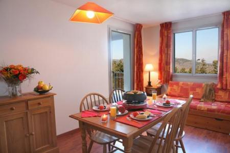 Location au ski Residence Les Balcons D'ax - Ax-Les-Thermes - Coin repas