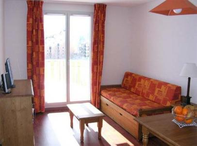 Location au ski Studio 2 personnes - Residence Les Balcons D'ax - Ax-Les-Thermes - Séjour
