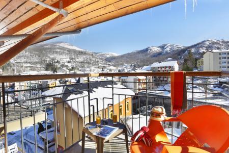 Location au ski Résidence les Grands Ax - Ax-Les-Thermes - Extérieur hiver