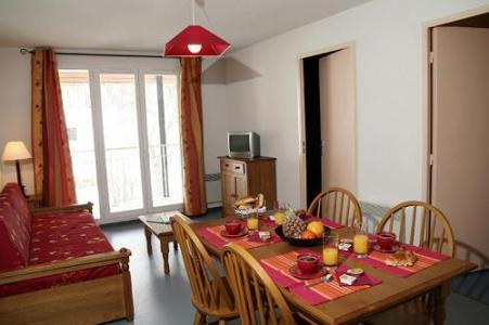 Location au ski Residence Les Grands Ax - Ax-Les-Thermes - Coin repas