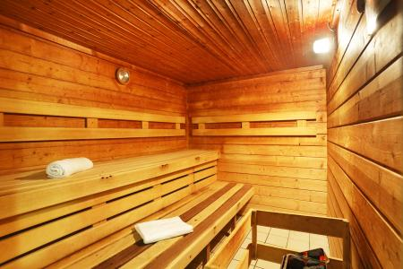 Location au ski Residence Les Grands Ax - Ax-Les-Thermes - Sauna