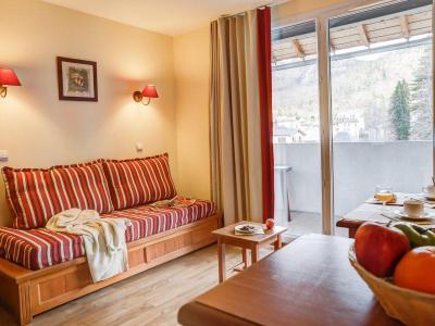 Location au ski Appartement 2 pièces 4-6 personnes - Résidence Pierre & Vacances les Trois Domaines - Ax-Les-Thermes