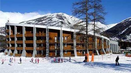 Location au ski Studio 3 personnes - Residence Campo Smith - Bardonecchia - Extérieur hiver