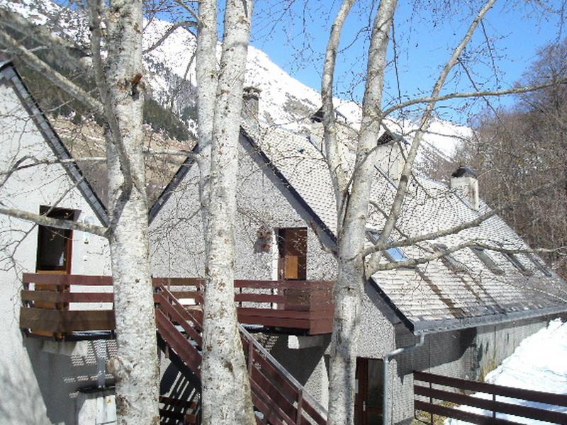 Location au ski Appartement 2 pièces 4 personnes (1) - Les Marmottes - Barèges/La Mongie - Extérieur hiver