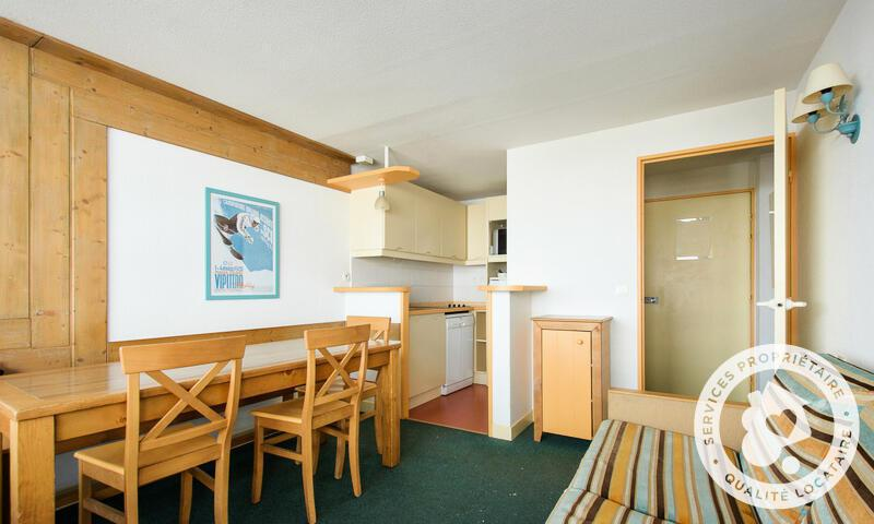 Аренда на лыжном курорте Апартаменты 2 комнат 6 чел. (Confort 36m²-7) - Résidence le Montana - Maeva Home - Barèges/La Mongie - Салон