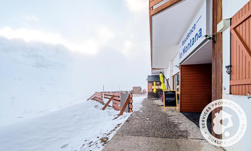 Аренда на лыжном курорте Résidence le Montana - Maeva Home - Barèges/La Mongie - зимой под открытым небом