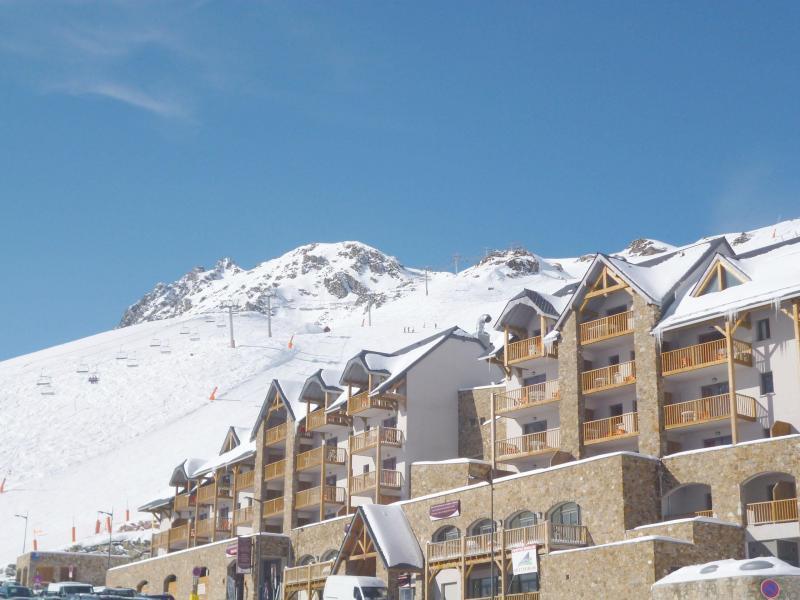 Wynajem na narty Résidence Tourmalet - Barèges/La Mongie - Zima na zewnątrz