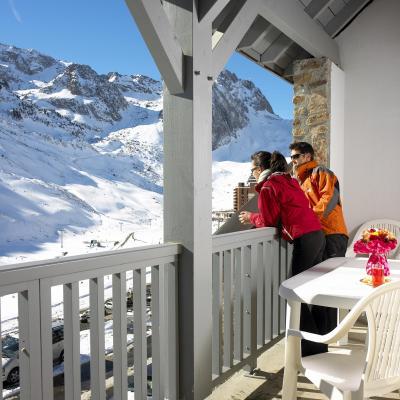 Holiday in mountain resort Résidence Pic du Midi - Barèges/La Mongie - Winter outside