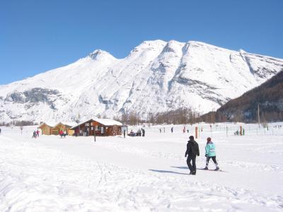 Urlaub in den Bergen Résidence le Clos Vanoise - Bessans - Draußen im Winter