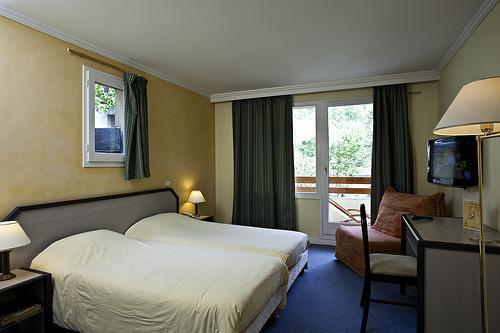 Location au ski Hotel Athena - Brides Les Bains - Chambre