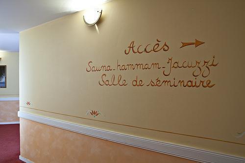 Location au ski Hotel Athena - Brides Les Bains - Couloir