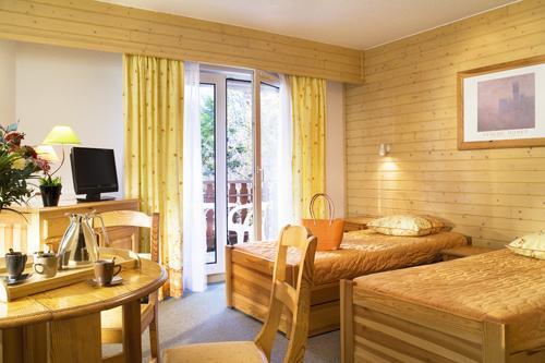 Location au ski Studio 2 personnes (ST2) - Residence Eureca - Brides Les Bains - Coin nuit
