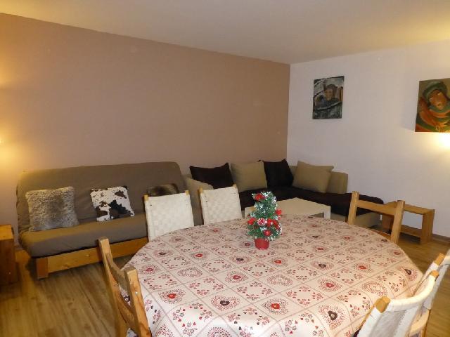 Location au ski Appartement 3 pièces 6 personnes (21) - Residence Roseland - Brides Les Bains - Séjour