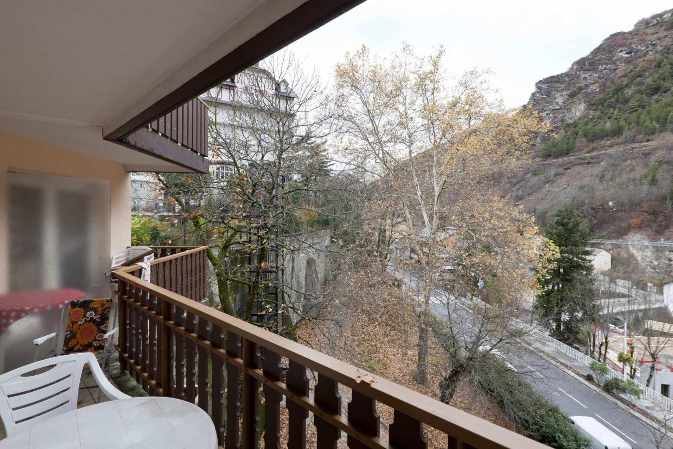 Location au ski Studio 4 personnes (538) - Residence Tarentaise - Brides Les Bains - Balcon