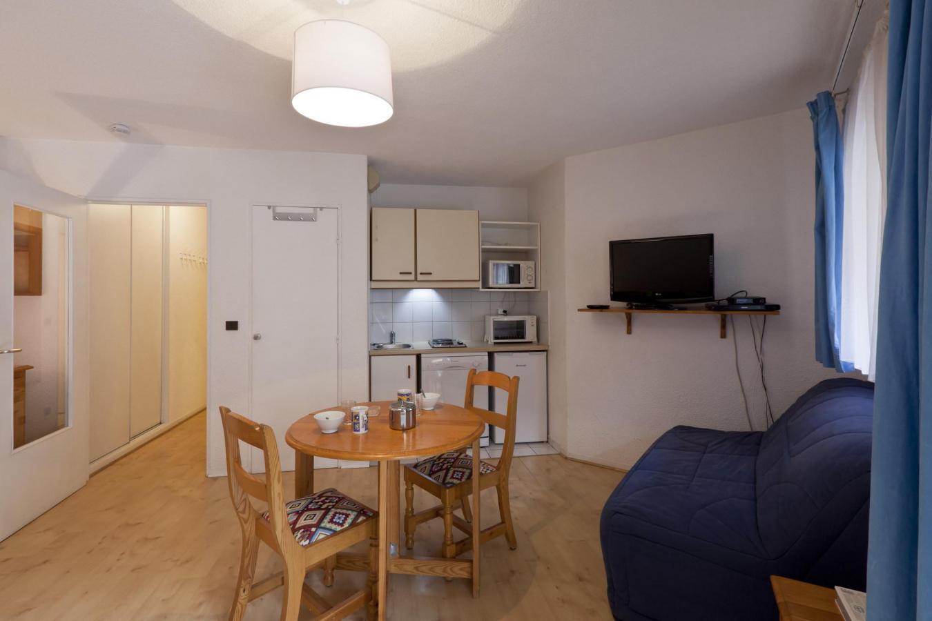Location au ski Studio 4 personnes (538) - Residence Tarentaise - Brides Les Bains - Salle de bains