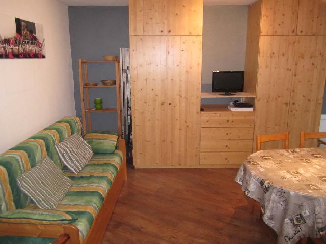 Location au ski Studio 4 personnes (768) - Residence Tarentaise - Brides Les Bains - Séjour