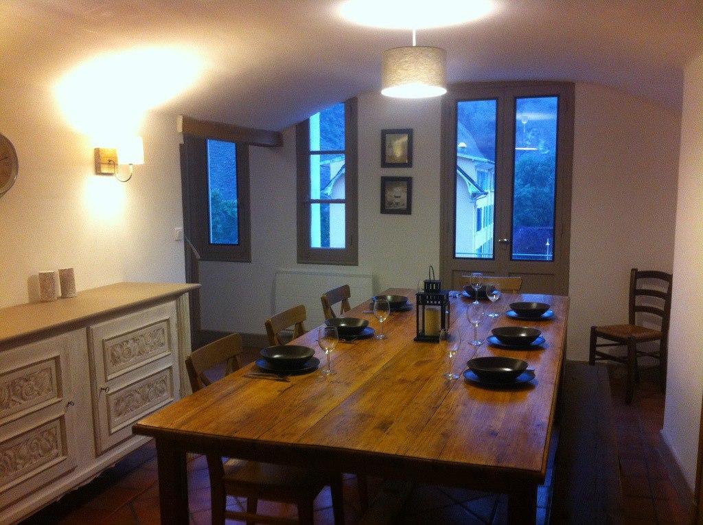 Location au ski Appartement 5 pièces 8 personnes (Diamant) - Residence Villa Clair - Brides Les Bains - Coin repas