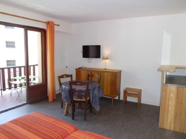 Location au ski Studio 2 personnes (33) - Residence Villa Louise - Brides Les Bains - Balcon