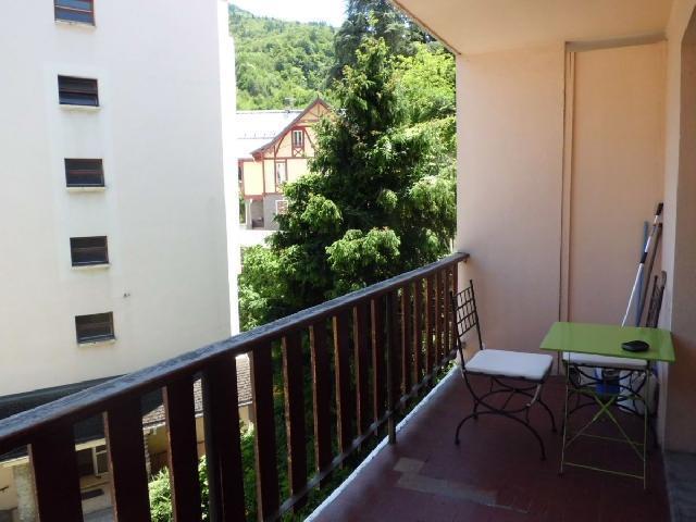 Location au ski Studio 2 personnes (33) - Residence Villa Louise - Brides Les Bains - Table et chaises de jardin