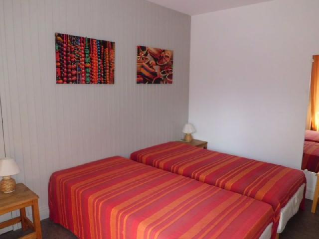 Location au ski Studio 2 personnes (34) - Residence Villa Louise - Brides Les Bains - Balcon