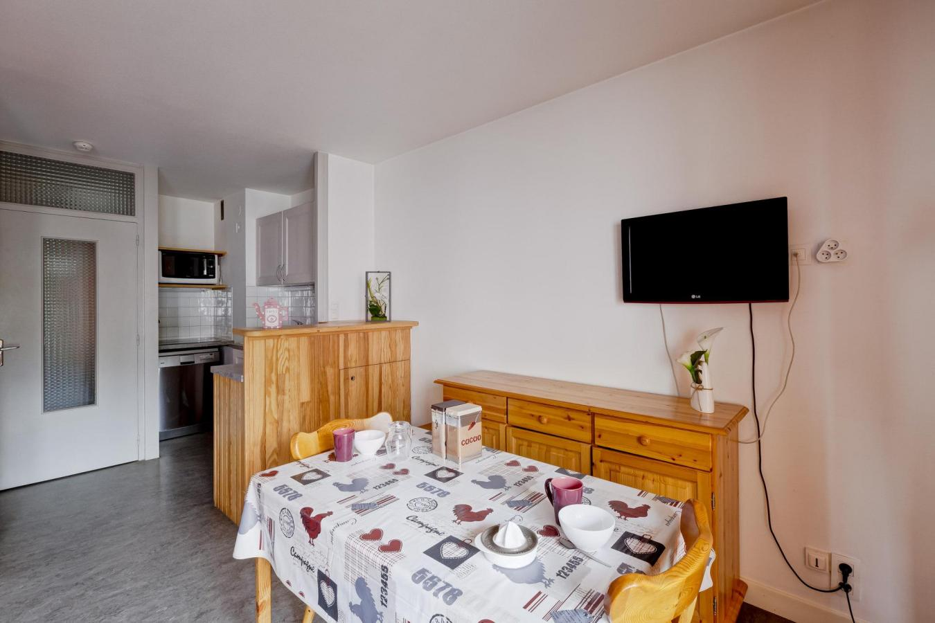 Location au ski Studio 2 personnes (34) - Residence Villa Louise - Brides Les Bains - Bar