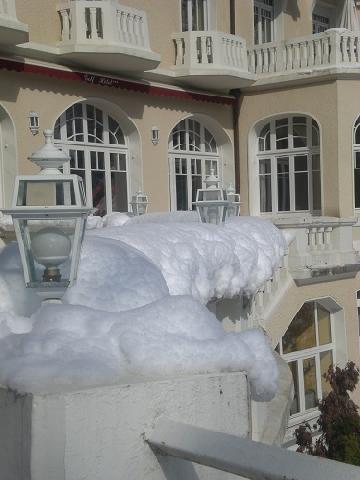 Vacaciones en montaña Le Golf Hôtel - Brides Les Bains - Invierno