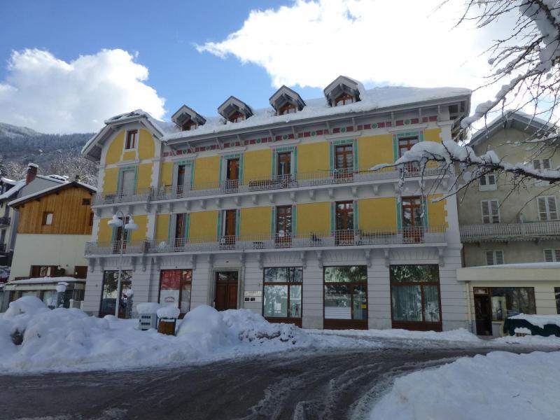 Location au ski Résidence Acquadora - Brides Les Bains - Extérieur hiver